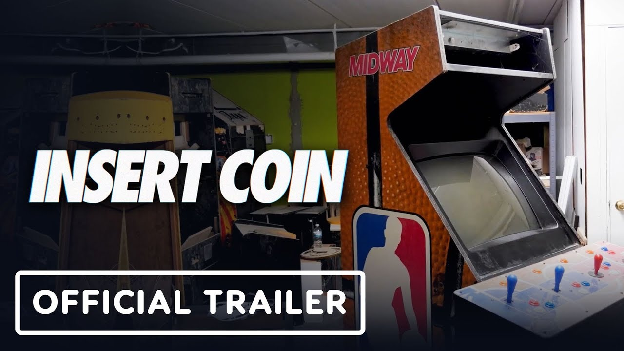 Insert Coin - Tráiler oficial (Documental de Midway Games) + vídeo