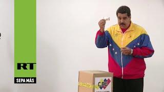 Nicolás Maduro vota en las elecciones primarias del PSUV