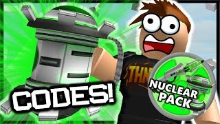 *NEW* 2x CODES & Nuclear Weapon Robux Pack! | Roblox Destruction Simulator