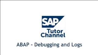 ABAP - Debugging and Logs