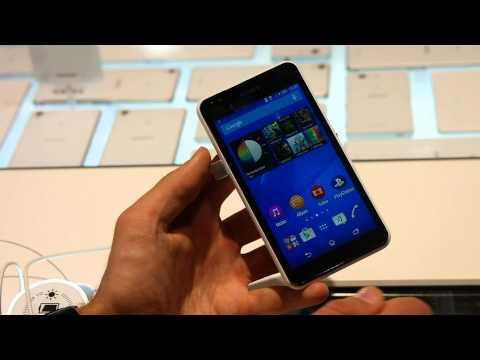 Sony Xperia E4g bemutató videó