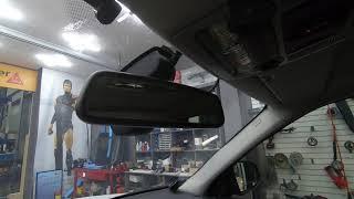 BMW X5 순정 ECM 룸미러 부딪힘으로 파손되어 미…
