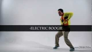 How to dance Dubstep dance & Electric Boogie / NEW tutorial.