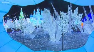 Magical Winters Lights Festival on display on La Marque