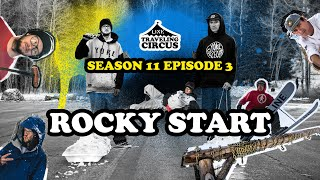 LINE Traveling Circus 11.3  Rocky Start  Early Season in Utah