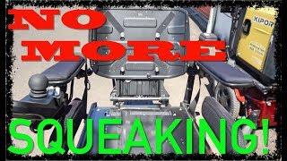 WHEELCHAIR REPAIR: Fixing Permobil Seating Rattles! (VLOG 345)