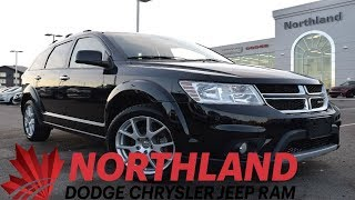 Walk Around 2016 Dodge Journey R/T | Northland Dodge | Auto Dealership in Prince George BC
