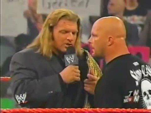 Stone Cold Triple H Ric Flair segment