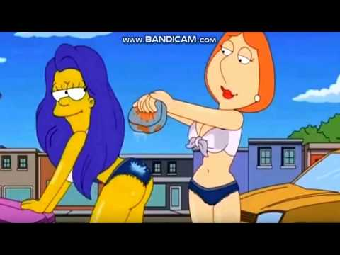 SEXY Carwash Scene - Lois Griffin / Marge Simpson from YouTube · Duration:  1 minutes 10 seconds