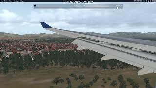 A330 x plane 11 landing mallorca. spain