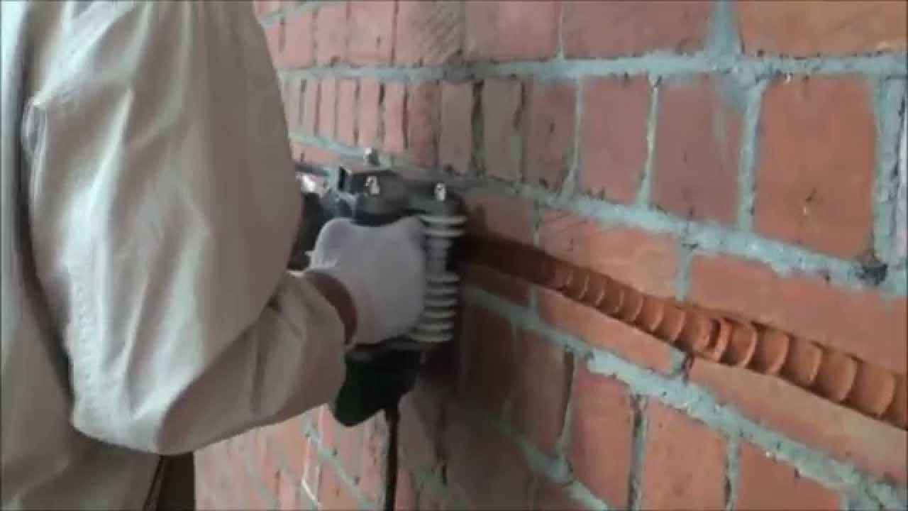 Max ripper m quina de cortar paredes youtube - Como insonorizar una pared ...