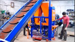Станок для изготовления лего кирпича усилием 20 тонн(Изготавливаем станки для лего кирпича, смесители и транспортеры. Подробно на сайте http://promkompany.ru/, 2015-05-20T20:40:06.000Z)