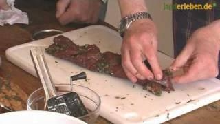 Kochen mit Francis Ray Hoff: Rehrückenzopf mit frischen Kräutern