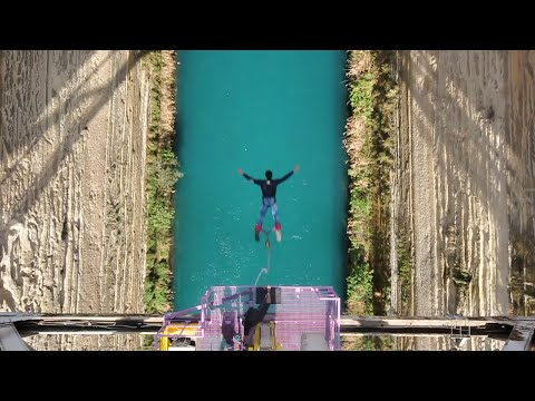 Bungee jumping - Corinth canal