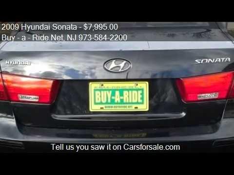 2009 Hyundai Sonata For Sale In Mine Hill, NJ 07803 At The B