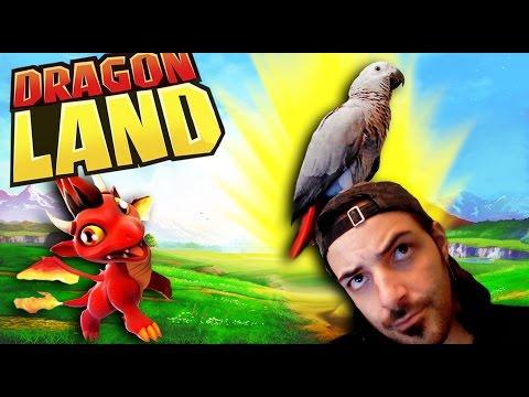 JUGANDO CON MI LORO XDD - Dragon Land - NexxuzHD