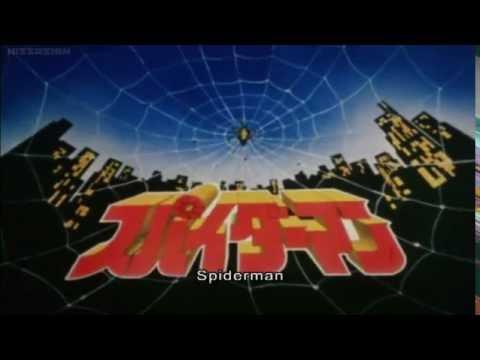 Japanese Spider-Man Opening