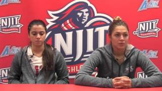 NJIT Women's Volleyball Post Game vs. Stetson