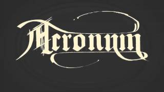 Acronym - Cross The Rubicon (New Song 2014)