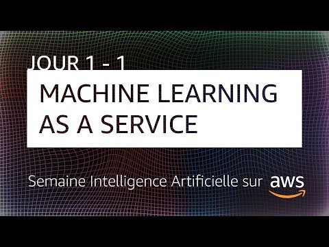 Découverte du Machine Learning sur le Cloud AWS