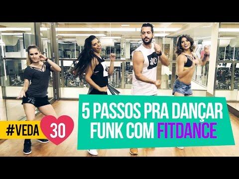 5 PASSOS PRA DANÇAR FUNK com FITDANCE + Erros de gravação #VEDA30