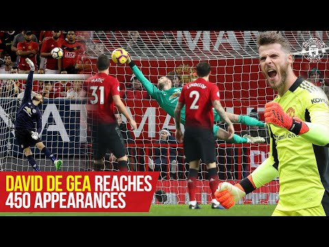 David De Gea reaches 450 games with Manchester United!  |  #DaveSaves