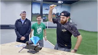 Crush a Diamond with a Hammer? | Dude Perfect thumbnail