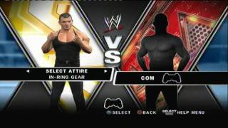 WWE Smackdown Vs Raw 2010 Unlockable Superstars + Diva
