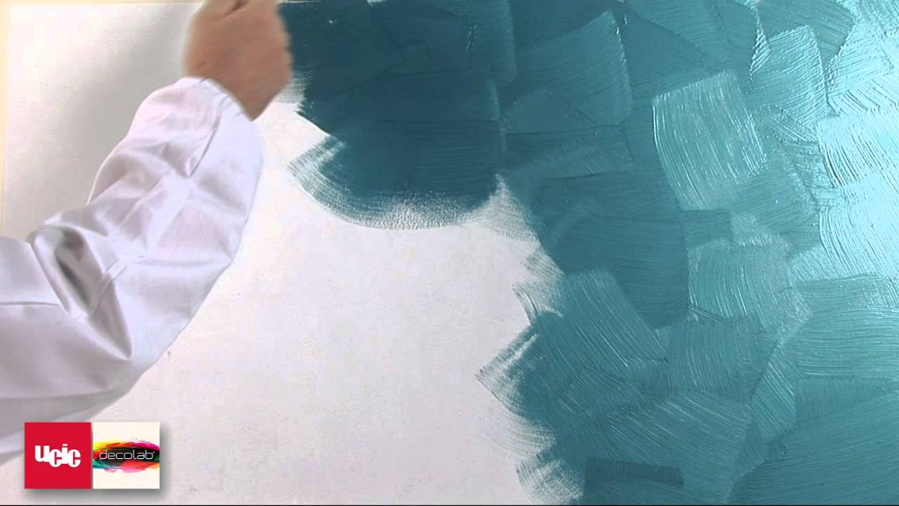 03 Stucco metallico - brush - YouTube