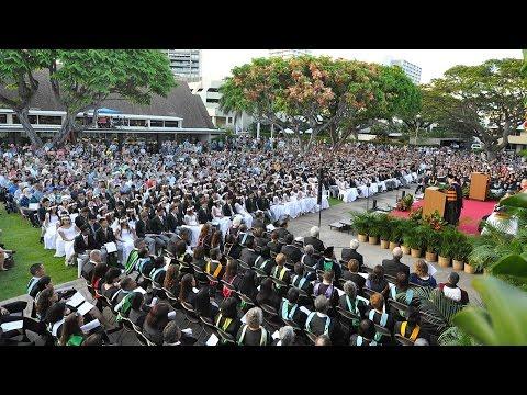 'Iolani School Graduation of the Class of 2017