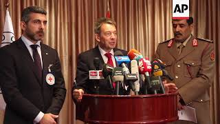 ICRC president vows to 'scale up' Libya operations