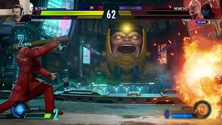 MvC Infinite: Week 2 Online Play pt18 - vs. Dormammu/Ultron