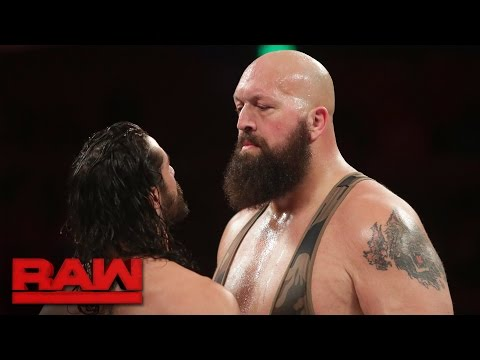 Seth Rollins vs. Big Show: Raw, Dec. 5, 2016