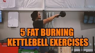 5 Kettlebell Exercises for Weight Loss   Tutorial Tuesday screenshot 2
