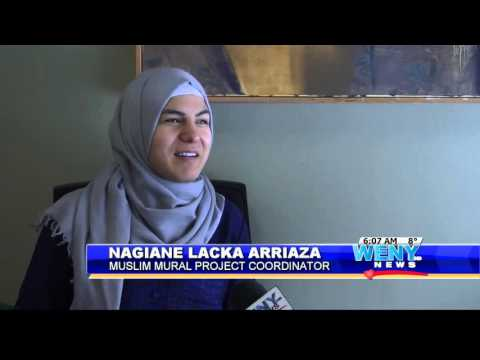 Call For Artists in Ithaca, NY to Paint a Mural Celebrating Muslim Culture