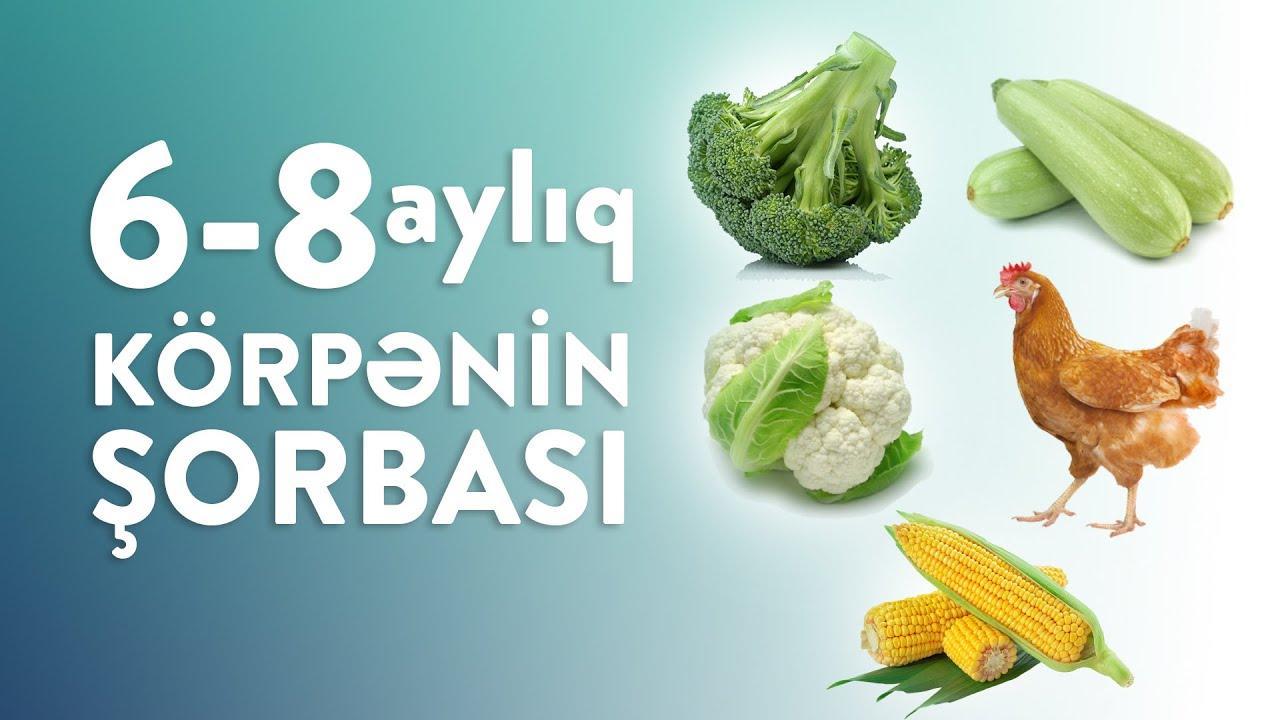 6–8 aylıq körpənin şorbası | Soup for 6–8 month old baby | Cуп для малыша 6–8 мес
