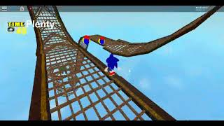 An sonic adventure level in Roblox? (Roblox sonic fangame)