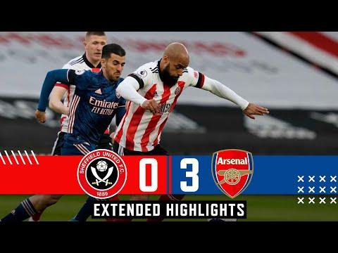 Sheffield United 0-3 Arsenal | Extended Premier League highlights | Lacazette goals defeat Blades!