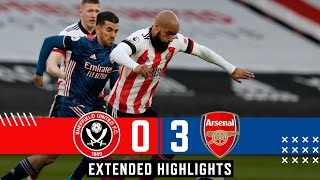 Sheffield United 0-3 Arsenal | Extended Premier League highlights | Lacazette goals defeat Blades!