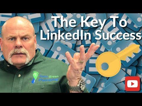 How  To WIN On LinkedIn - Social Media Marketing Tips - The Expert Plumber