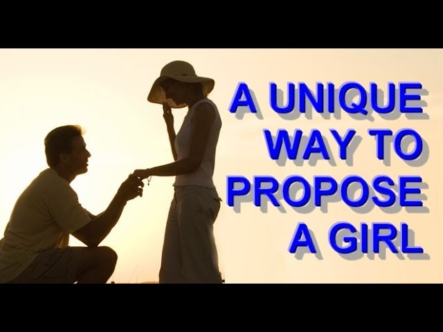 3 Ways To Propose To A Woman Creatively Wikihow