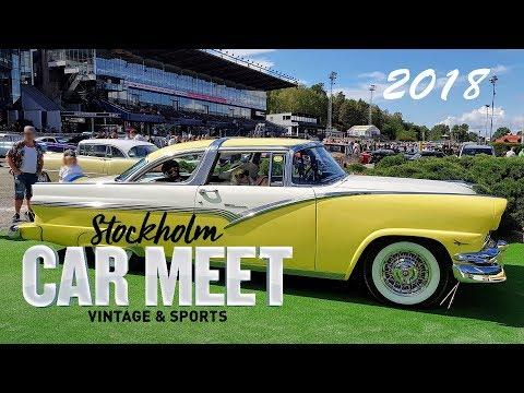 Stockholm Vintage & Sports Car Meet 2018
