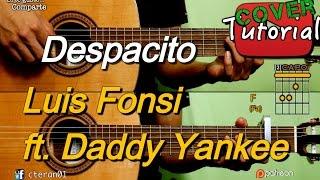 Despacito - Luis Fonsi feat. Daddy Yankee Instrumental Cover/tutorial Guitarra