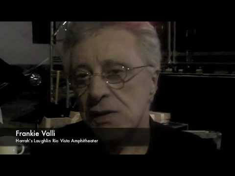 Harrah's Laughlin Frankie Valli interview