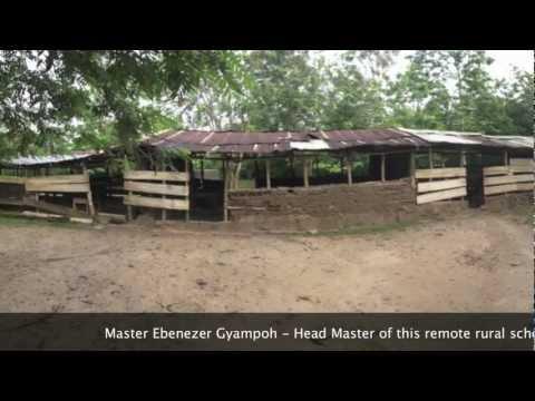 Rebuilding A Junior High School In Gboloo Kofi, Ghana, West Africa