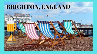 A walking tour of sunny Brighton, England