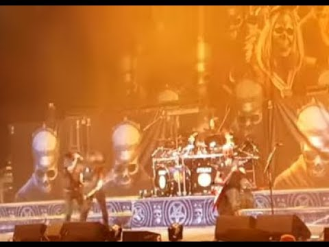 Testament drummer Gene Hoglan fills in for ANTHRAX drummer Charlie Benante video now released..!