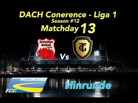 FCC DACH Conf 1 Season #12 Matchday 13 Vs Kreisliga Utd l 0:0 U