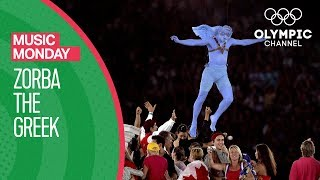 Zorba The Greek - Mikis Theodorakis @ Athens 2004 Olympic Games Closing Ceremony | Music Monday