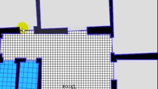 Корректировка стен квартиры по осям, перед штукатурными работами⛔